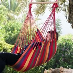 Hamac fauteuil suspendu coloré