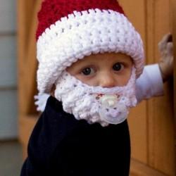Bonnet pour enfant déguisement de Père Noël