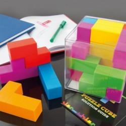 Jeu de Tétris 3D en cube