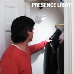 Lampe d'appoint LED avec détecteur de mouvement