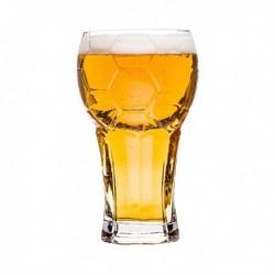 Verre à bière taille XXL en forme de ballon de foot