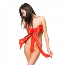 Déguisement lingerie en forme de nœud sexy