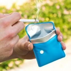 Cendrier de poche anti odeur et résistant à la chaleur