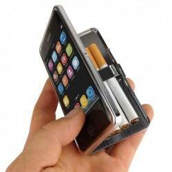 Etui à cigarettes en forme d'iPhone 4