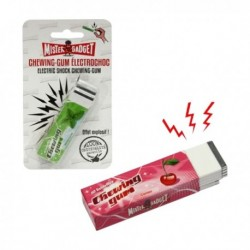 Paquet de chewing-gum à décharge électrique