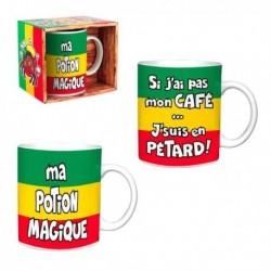 2 Mugs Rasta drôle