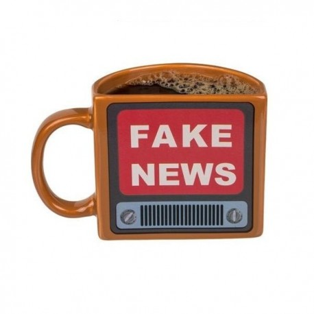 Tasse thermo réactive Fake News