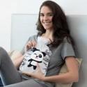 Bouillotte avec pochette panda