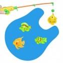 Jeu de Pêche miniature pour toilettes