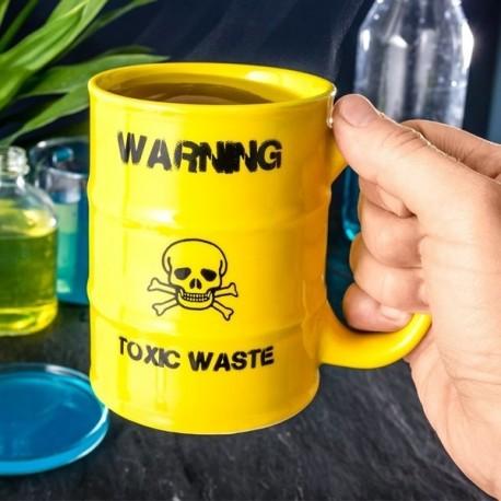 Tasse baril toxic waste