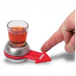 Jeu à boire flèche et verre shooter
