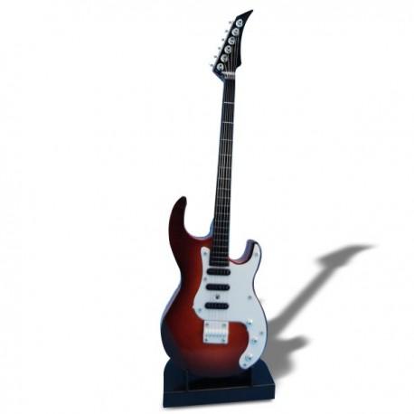 Mini-guitare électronique à 6 cordes