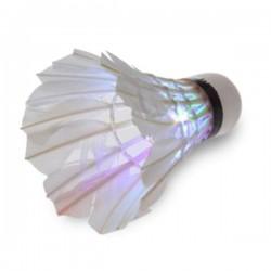 Volant à plumes LED pour Badminton