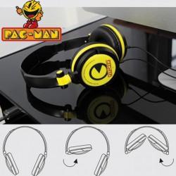 Casque audio pliable PacMan