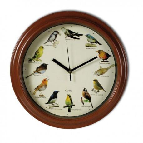 Horloge mélodie oiseaux