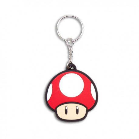 Porte-clés en caoutchouc Toad Nintendo