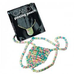 String bonbons colorés comestibles homme
