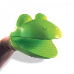 Manique tête de grenouille en silicone