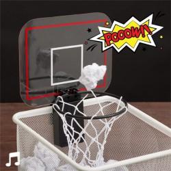 Mini-panier de basket avec son
