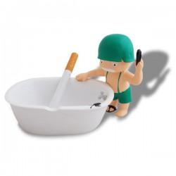 Cendrier baignoire petit soldat