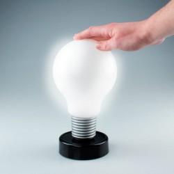 Lampe ampoule appui pour allumer