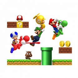 Autocollants muraux Super Mario