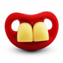 Sucette déguisement 2 grosses dents