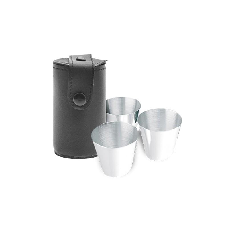 Flasque inox et accessoires en coffret for Recipient inox cuisine
