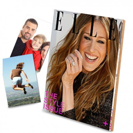 Porte photo magazine ELLE