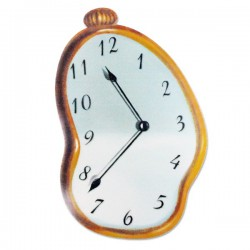 Tapis de souris horloge fondante