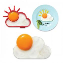 Moule à œuf soleil et nuage