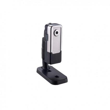 Mini-caméscope métal argent