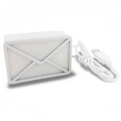 Enveloppe USB alerte email
