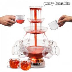 Fontaine à cocktail à LED