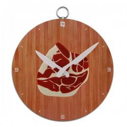 Horloge murale dessin côte de porc