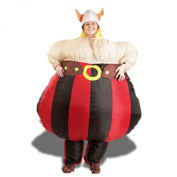 Costume gonflable de Viking
