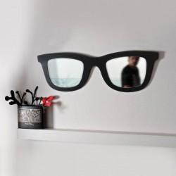 Miroir en forme de lunettes de soleil