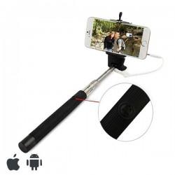 Perche pour selfie avec câble