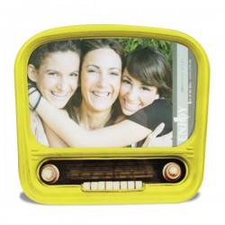 Cadre à photo poste de radio vintage