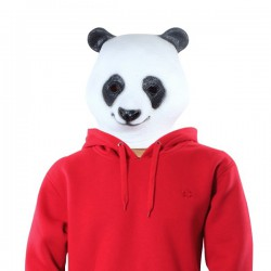 Masque en latex panda géant