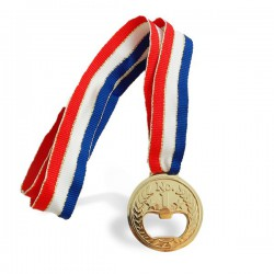 Décapsuleur médaille d'or