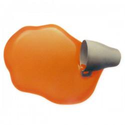 Tapis de souris jus d'orange renversé