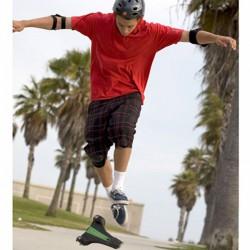 Skateboard en forme de triangle