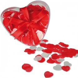 Pétales de savon en forme de cœurs