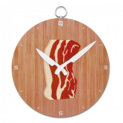Horloge murale poitrine de porc