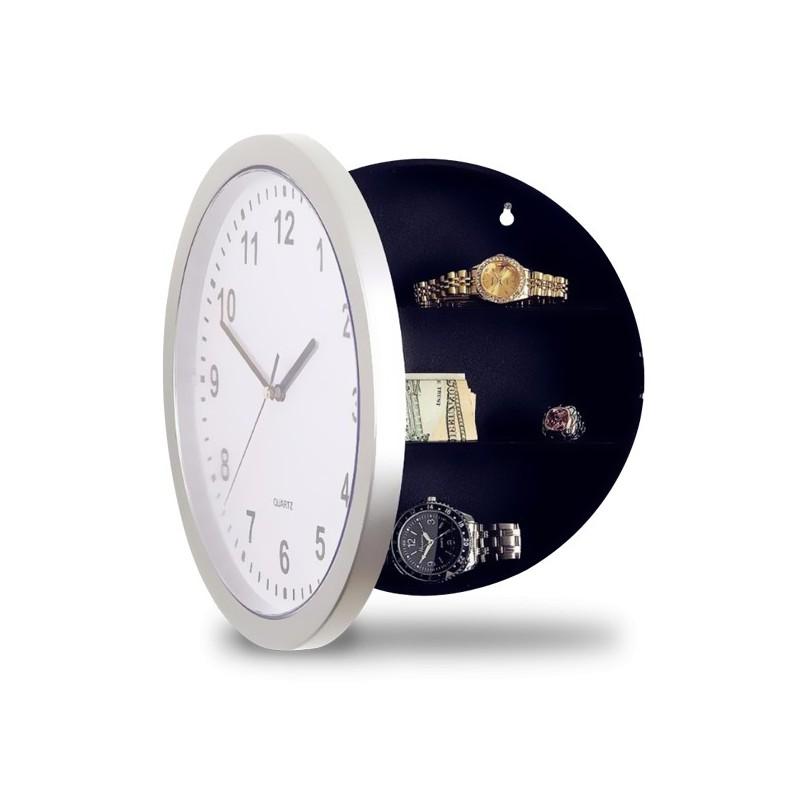 horloge murale avec coffre fort int gr. Black Bedroom Furniture Sets. Home Design Ideas