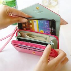 Portefeuille pour Smartphone, monnaie et carte