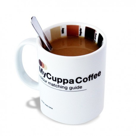 Tasse à jauge d'intensité de café
