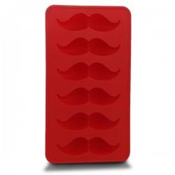 Moule à glaçons en forme de moustache