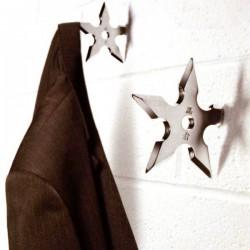 Porte-manteau étoiles ninja